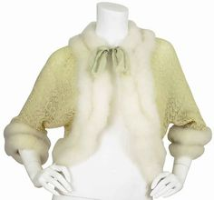 1920s silk and swan's down bed jacket.