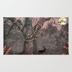 The party... Rug by Ludovic Jacqz - $28.00