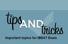 IBSAT is one of the national level b-school examinations, which help the candidates to seek admission to colleges, affiliated under ICFAI.