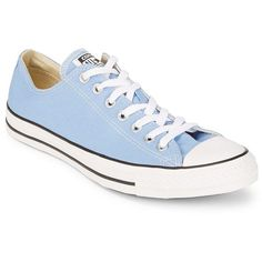 Converse Women's Chuck Taylor Pioneer Sneaker ($55) ❤ liked on Polyvore featuring shoes, sneakers, pioneer blue, round cap, low profile sneakers, blue shoes, blue platform shoes and blue sneakers