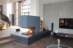 Wunderbar Moderne Kamine Feuertisch Tunnelkamin Dreiseitiger Kamin Marmor Stilkamin