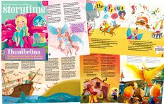 Colourful, magical and out now - it's Storytime Issue 17! Fall in love with stories at ~ STORYTIMEMAGAZINE.COM