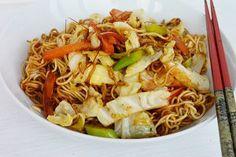 Wok, Pasta Carbonara, Asian Recipes, Ethnic Recipes, Tzatziki, Chinese Food, Food And Drink, Health, Salads