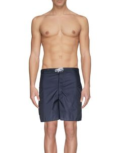 Swim trunks by Just Cavalli Beachwear, Men's, Size: Green Men's Swimsuits, Swimwear, Swim Trunks, Techno, Swimming, Colors, Fabric, Fashion, Bathing Suits