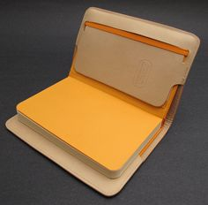 Gfeller Casemakers Leather Notebook Cover