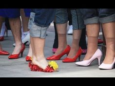 Walk a Mile in Her Shoes - a men's march against sexual and domestic violence
