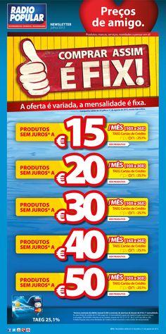 Newsletter - Comprar assim é FIX!  http://www.radiopopular.pt/newsletter/2013/73/