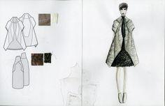 Fashion Sketchbook - fashion design; graduate fashion portfolio // dipti irla