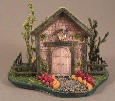 Whoodshire Fairy Scribe Cottage