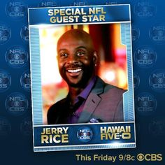 Don't miss @NFL Legend, @JerryRice, on tomorrow's all-new #H50!