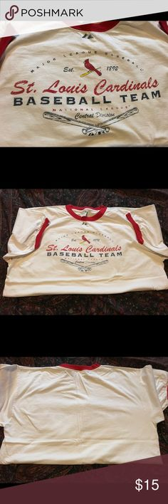 🍷$clearance! St.Louis Cardinals tshirt. Men's Excellent condition Shirts Tees - Short Sleeve