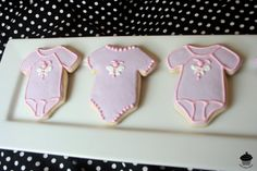 Butterfly Onesie Baby Girl Cookies Favor Gift  1 by misslizzycakes, $30.00