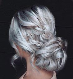 - How to Do a Chignon Bun – Easy Chignon Hair Tutorial - The Trending Hairstyle Winter Hairstyles, Trending Hairstyles, Cool Hairstyles, Hairstyles Pictures, Bridal Hairstyles, Hairstyle Ideas, Easy Chignon, Chignon Hair, Braided Updo