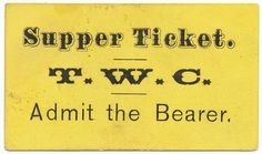 mid-to-late-19th century tickets
