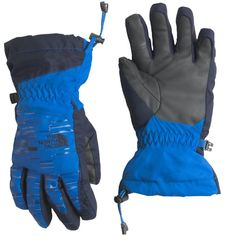 The North Face Youth Boys' Revelstoke Etip Insulated Gloves, Size: Medium, Blue