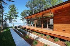 Higgins Lake House / Jeff Jordan Architects  (6)