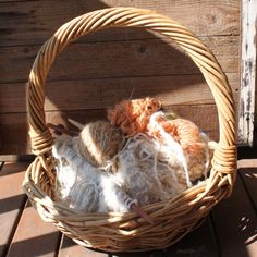 Homegrown, hand spun mohair and merino available online at www.timberandtwine.co