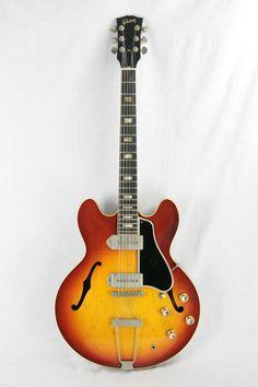 1965 Gibson ES-330 TDC Nickel Parts, Wide Nut! ICED TEA SUNBURST