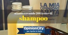 Sei un cittadino di OpinionCity? Ti interessa contribuire a migliorare la qualità degli shampoo che utilizzi? Entra nelle OpinionCity Card e compila o aggiorna la card che abbiamo caricato per te. Stiamo selezionando 200 italiani che ad Aprile riceveranno a casa loro alcuni campioni di shampoo per testarli e darci la loro opinione. Non sei […]