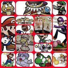 #PhotoGrid Mario