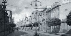 Image result for wood houses in curitiba in the past
