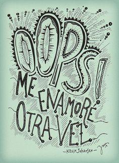 OOPS! me enamoré otra vez.