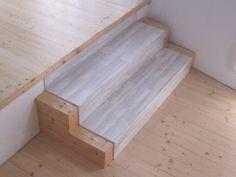 Recubrimiento de #escalera, #stairs  Podéis ver el montaje paso a paso en: http://www.amescalones.com/montaje.php