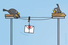 """Gratis e-card: """"Brief"""""""