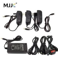 LED Power Supply Unit 12V DC 1A 2A 3A 5A 8A 10A 15A Power Adapter 110V 220V AC to 12 volt DC for CCTV LED Strip Light EU US UK