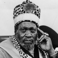 Jomo Kenyatta (1889 – 1978) was the leader of Kenya from independence in 1963 to his death in 1978, serving first as Prime Minister (1963–64) and then as President (1964–78). Pan-africanist, he is considered the founding father of the Kenyan nation.