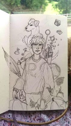 I always kinda prefer the sketches