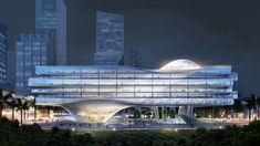 Architecture Design, World Architecture Festival, Types Of Architecture, Contemporary Architecture, Maquette Architecture, Architecture Diagrams, Architecture Portfolio, Shenzhen, In China