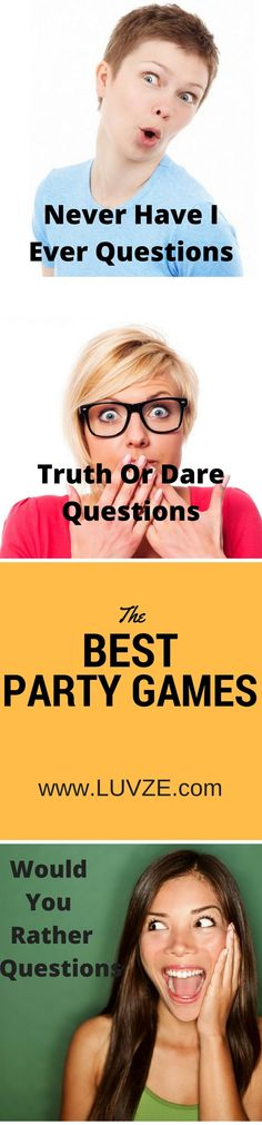 relationship games Check out these fun party games you can play with your friends or with your boyfriend/girlfriend. Truth Or Dare Questions, Would You Rather Questions, This Or That Questions, Your Boyfriend, Boyfriend Girlfriend, Relationship Games, Never Have I Ever, Fun Party Games, Best Part Of Me