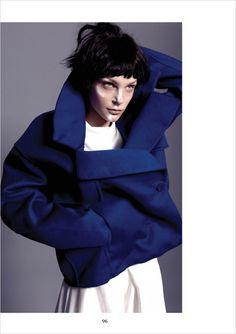 Jessica Stam for Narcisse Magazine by Yu Tsai