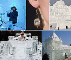 Cool Creations: 20 Imaginative & Strange Ice Sculptures