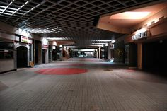 Abandoned Mall, Michigan.  The death of consumerism?