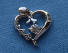 Wish I had this to combine my heart necklace & laviler