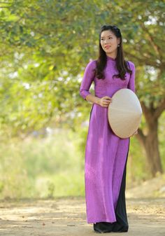 Ao Dai Vietnam Natural Silkworm Custom Made #HienThao #Casual