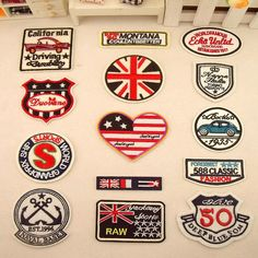 embroidered patch iron on patch sew on patch size please click style