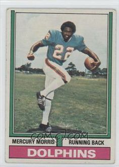 1974 Topps #170 - Mercury Morris