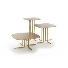 Coffee Table Design, Minimalist Interior, Small Tables, Modern Table, Metallic Paint, Furniture Design, Wood, Home Decor, Small End Tables