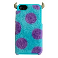 """I wish I was a bigger Monsters Inc fan, cause this iphone case is SUPER CUTE!!  ITS ACTUALLY FURRY!!! Monsters University iPhone 5 Furry Case - Sully - Performance Designed Products - Toys """"R"""" Us"""