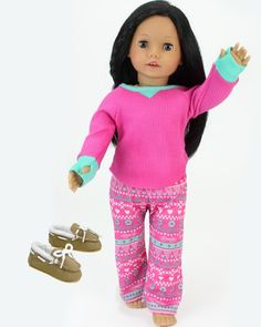 """Box Fits American Girl Clothes /&Accessories 18/"""" Doll Pink Strappy Sandal Shoes"""