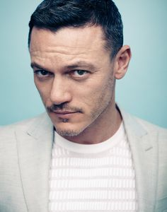 Luke Evans, by Matt Holyoak for Article