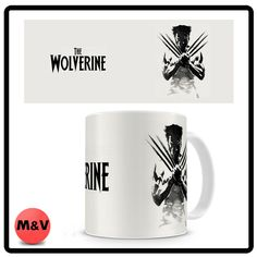 X men Wolverine mug, Marvel, comics, movie