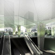 train station - metro architects