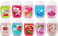 Bath & Body Works PocketBac Hand Sanitizer Classic Favorites 10pc Bundle