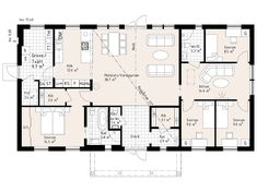 Katalogvariant Sims Building, Dream House Interior, Sims House, House Floor Plans, Planer, Beautiful Homes, Layout, House Design, How To Plan