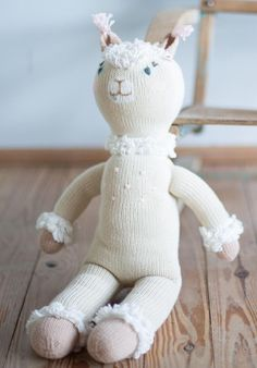 Super cute new alpaca knit doll by BlaBla Kids. Hello Picchu!