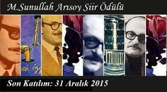 KEGEV M.Sunullah Arısoy 2016 Şiir Ödülü - Edebiyat Haber Portalı